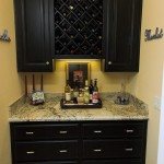 wine storage custom cabinet