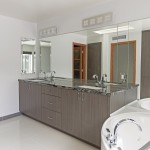 Tempe Custom Contemporary Remodel custom bath cabinetry