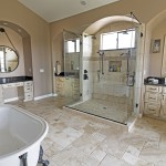 Gold Canyon Mountain Retreat Rustic Contemporary elegant bathroom