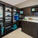 Oakcraft closet system