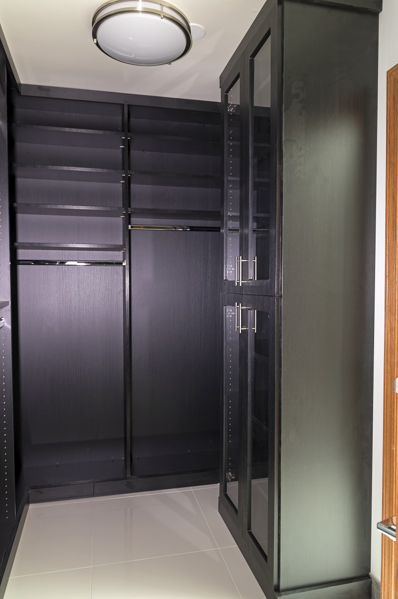 Tempe Custom Contemporary Remodel closet