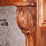 osborn kitchen cabinet detail