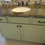 Chandler Contemporary Bath custom vanity