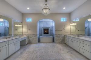 Scottsdale Contemporary Bath custom bathroom cabinets