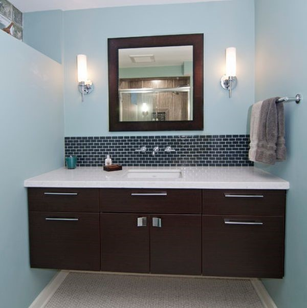 Cornerstone More And More Designers Are Including Floating Vanities As Part  Of Their Design. Floating Cabinets Are Suspended Off The Back Wall And Off  The ...