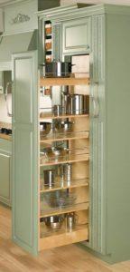 Rev-a-shelf custom kitchen cabinets