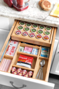 custom kitchen organizer