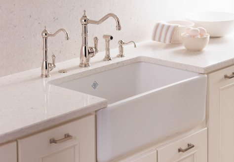 Rohl Apron Front Farmhouse Sink