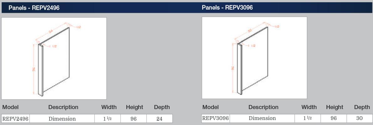 Panels REPV2496